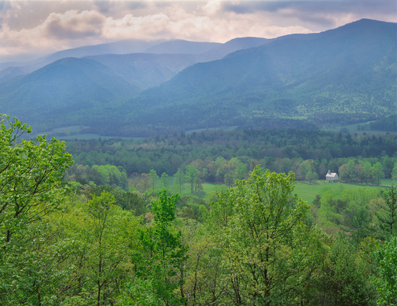 A View of Cade's Cove, Tennessee