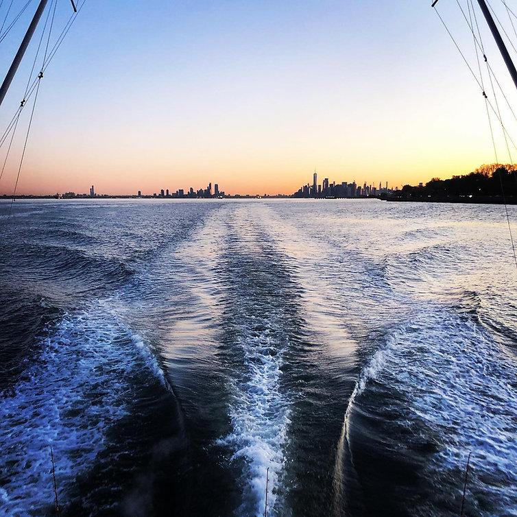 NYCbyBOAT sunset