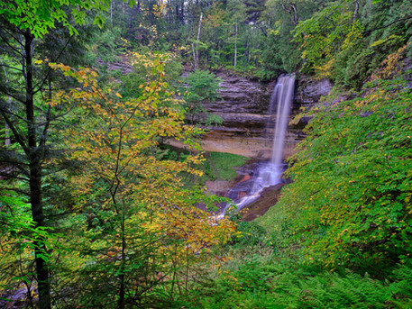 Munising Falls, Michigan