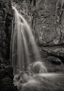 Upper Falls on Doyle's River, Virginia Triptych#1