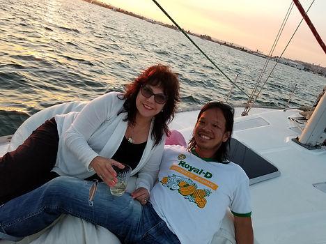 san diego sunset sail