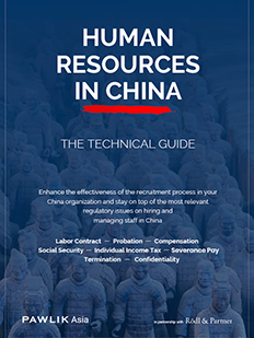 Human Resources in China Technical Guide