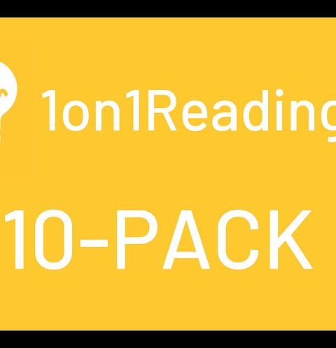 Special Offer - First Reading 10-Pack