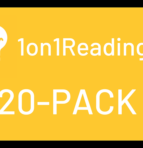 Special Offer - First Reading 20-Pack