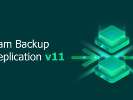 Новая версия Veeam Backup & Replication V11