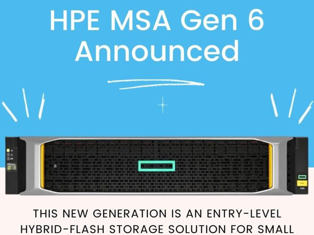 Новое поколение самой популярной СХД начального уровня от HPE