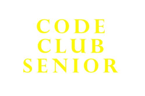 Code Club Senior (Age 12 - 16)