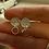 Thumbnail: Faith hammered earrings