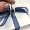 Thumbnail: Silver Hammered Hoop earrings