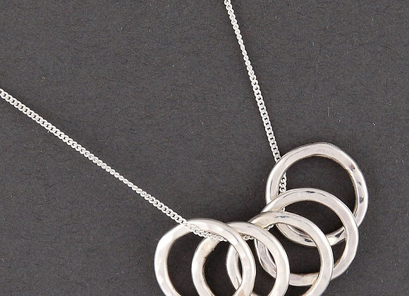 Family Ring Necklace