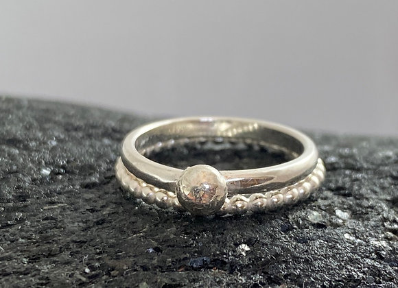Full stop stacking rings
