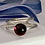 Thumbnail: Garnet stacking ring set