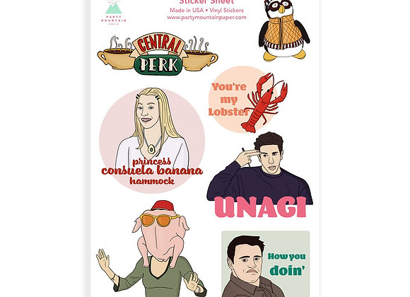Friends Sticker Pack