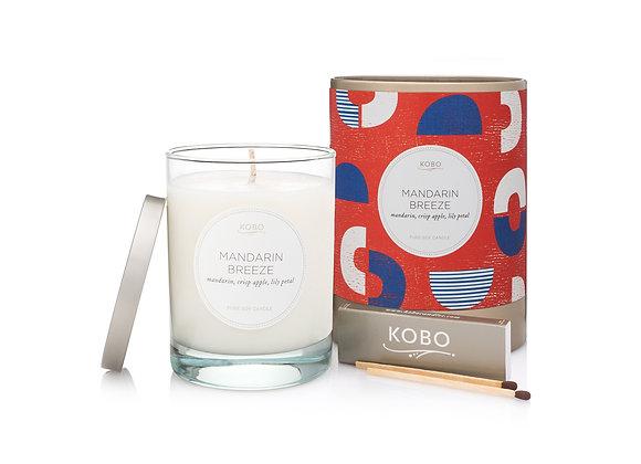 Mandarin Breeze Kobo Natural Math Candle