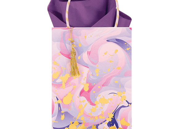 Marble Mad Lavender Gift Bag