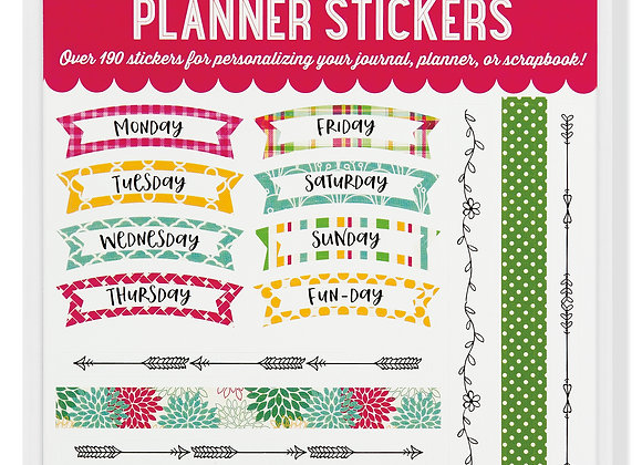 Planner Stickers Borders Frames Pack