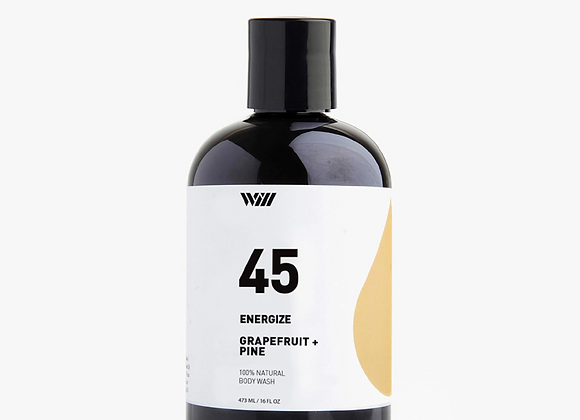 45 Grapefruit & Pine Energize Body Wash