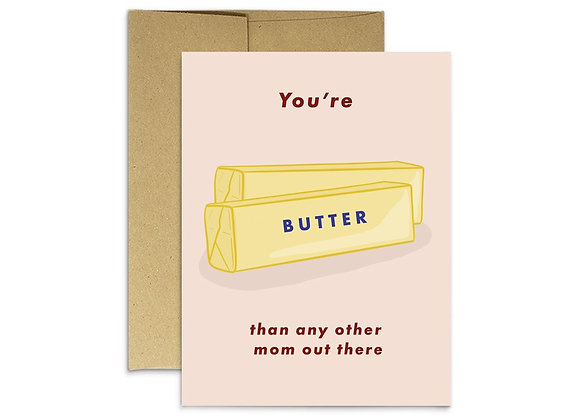 Butter Mom Card