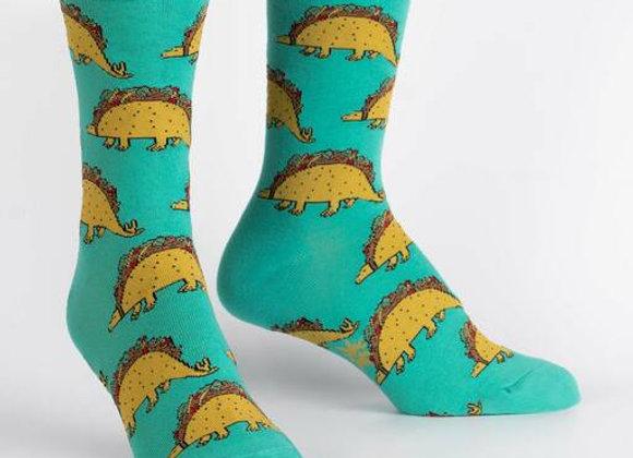 Women's Crew Tacosaurus Socks