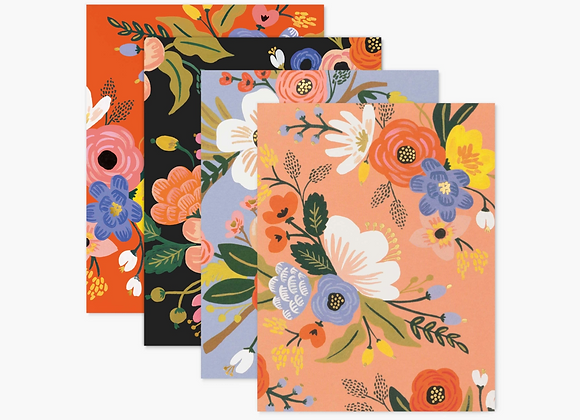 Assorted Lively Floral Blank Boxed Cards