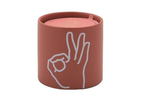 O.K Rosewater & Santal Ceramic Candle 5.75oz