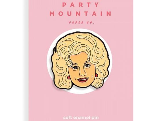 Dolly Parton Enamel Pin @226