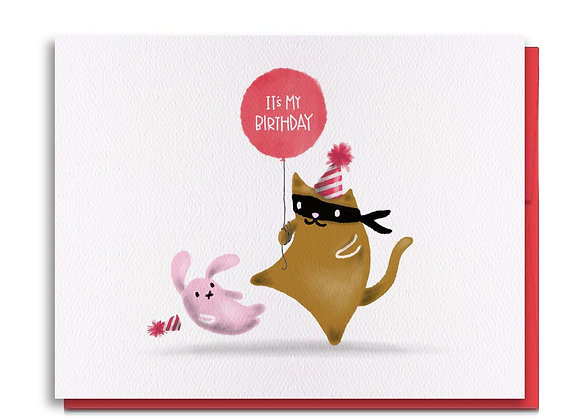 Kick Stuff Birthday Card