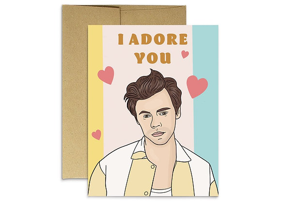 Harry Adore You Card