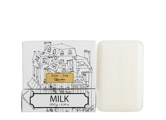 Milk White Boxed 200g Soap