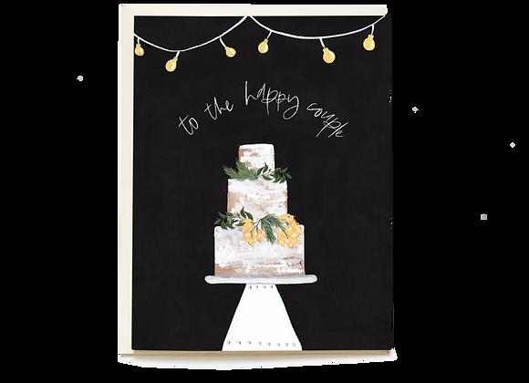 Decorative Cake Wedding Card