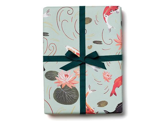 Koi Fish Flat Wrap Sheet