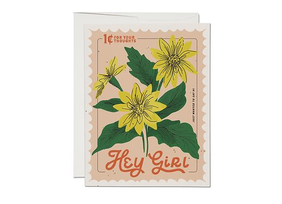 Hey Girl Everyday Card