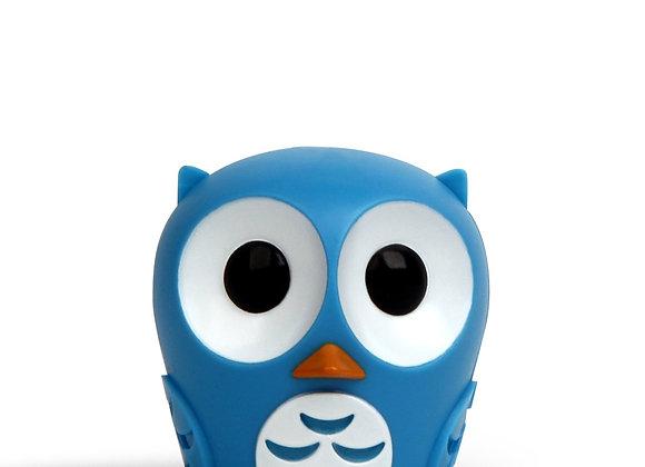 Owl Blue Toothbrush Holder