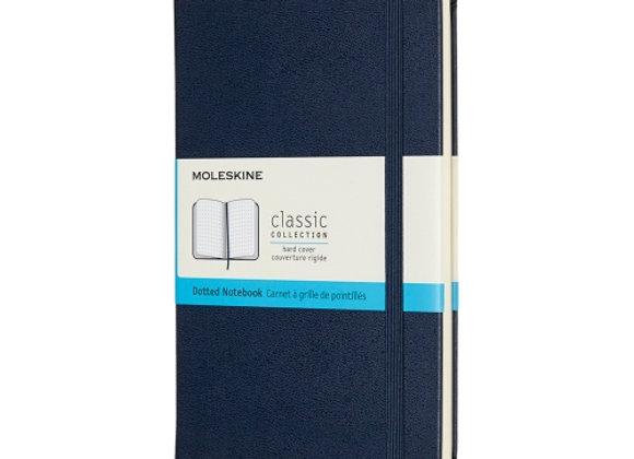Classic Pocket Blue Soft Cover Dot Notebook