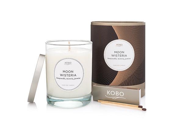Moon Wisteria Kobo Filament Series Candle
