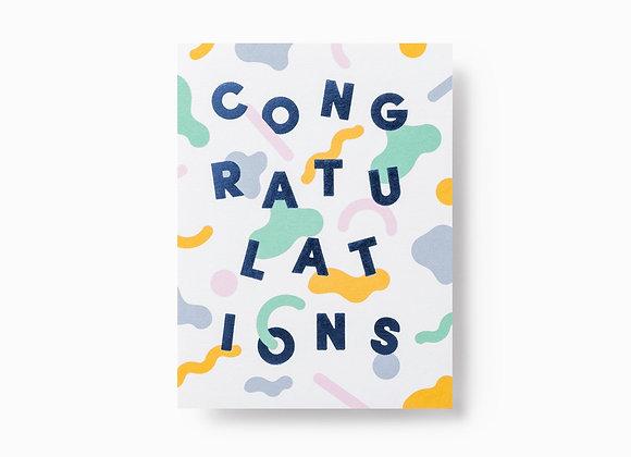 Congratulations Pastel Card