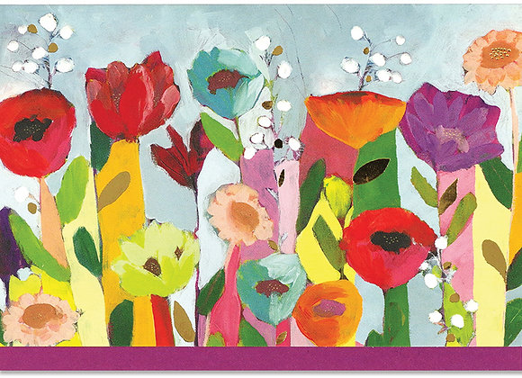Brilliant Floral Blank Boxed Cards