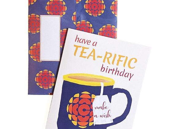 Have A Tea-rific Birthday Card