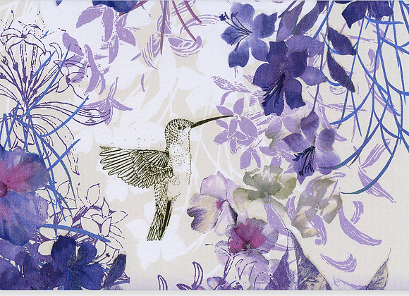 Hummingbird Blank Boxed Cards