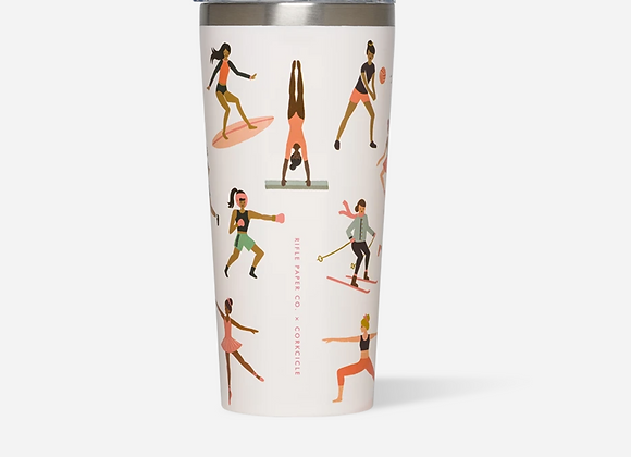 Rifle Paper Sports Girl 16oz Tumbler Cup
