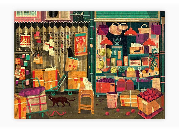 1000 Piece Puzzle Prabhat Shop Cat