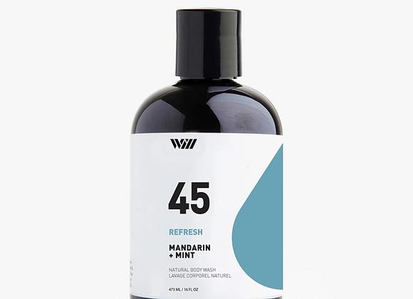 45 Mandarin & Mint Refresh Body Wash