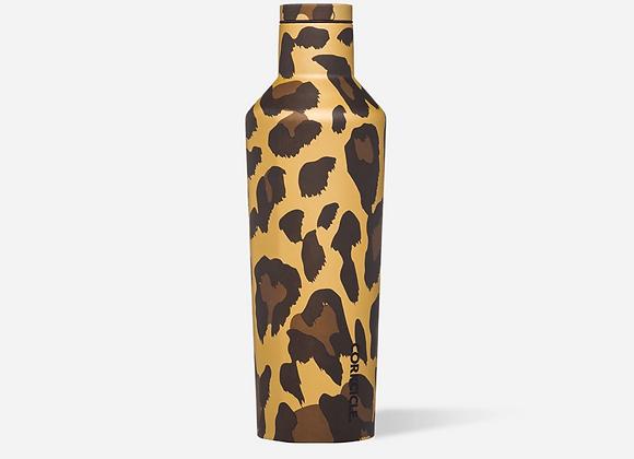 Luxe Leopard 16oz Canteen Bottle