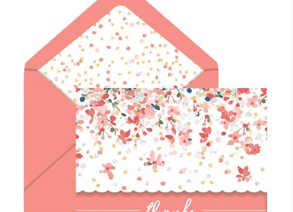 Spring Dance Thank You Boxed Cards