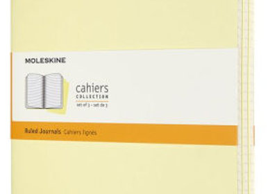 Cahier XL Tender Yellow Set Of 3 Ruled Journals