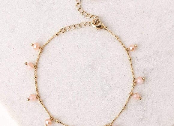 Dot Crystal Bracelet Assorted Colours