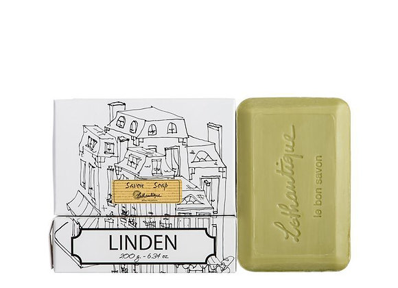Linden White Boxed 200g Soap