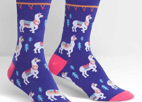 Women's Crew Como Te Llamas Socks