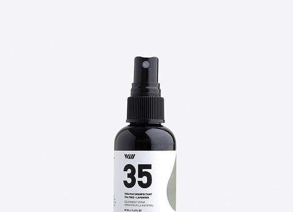 35 Yoga Mat Disinfectant Spray Tea Tree & Lavender