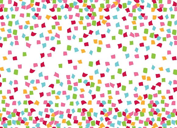 Printed Tissue Colourful Confetti
